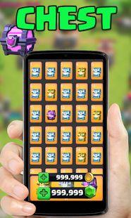 Gems clash royale Simulated - μικρογραφία στιγμιότυπου οθόνης