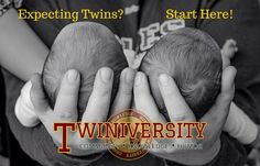 Congratulations! You're expecting twins! And Twiniversity is here to help. We've posted all of our top articles below in a quick and easy guide to get you prepared for twin pregnancy, twin baby showers, delivery day, and all the ins and outs of preparing to bring home two newborns, and beyond!
