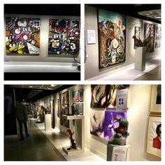 New Art & New Wall @ My Galleries! #mygalleries #Paintings #art #rocknroll #mistery #sculpture #morres #michielverstraten www.mygalleries.be