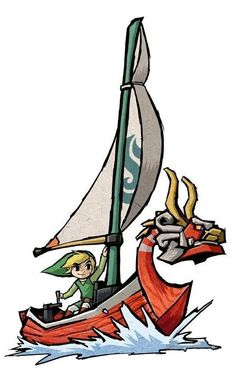 Lion Rouge Dans The Wind Waker, le Lion Rouge est non seulement le moyen de transport de Link mais aussi un bateau qui parle. C'est en fait le Roi d'Hyrule, de son vrai nom Daphnes Nohansen Hyrule III, qui devient le Lion Rouge pour aider Link dans sa quête.
