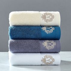 2020 High-grade cotton Towel ,Letter Embroidered Towel for Star Hotel Bath Towel Size, Towel Set, Soft Towels, Cotton Towels, Bathroom Towels, Bath Towels, Embroidered Towels, Luxury Towels, Face Towel
