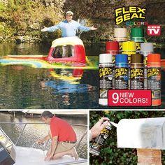 FLEX SEAL COLORS   Get Organized