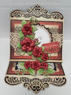 All Glammed Up with Heartfelt Creations by TrishaMat - Cards and Paper Crafts at Splitcoaststampers