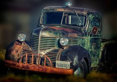 40s Dodge Pickup Truck Classic Car by AroundTheGlobeImages on Etsy