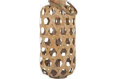 "23"" Nuo Bamboo Lantern"