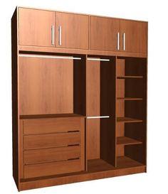 Wardrobe with tv stand california closets bedroom for Manual para muebles de cocina