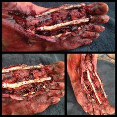 Nah it doesn't even hurt. Horror Makeup, Zombie Makeup, Scary Makeup, Spx Makeup, Wound Makeup, Dragon Makeup, Magical Makeup, Theatre Makeup, Special Effects Makeup