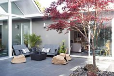 Beautiful Houses: Double Gable Eichler Remodel
