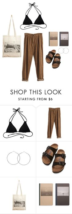 """Untitled #524"" by marta-andrade ❤ liked on Polyvore featuring Victoria's Secret, MTWTFSS Weekday, Birkenstock, Borders&Frontiers and Shinola"