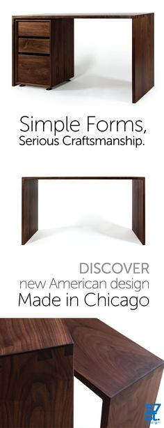 reclaimed wood furniture made locally in San Diego. custom order