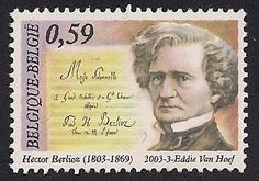 Stamps of Hector Berlioz. See this blog for lots more.