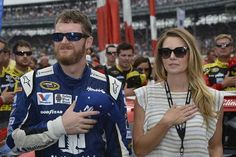 Dale Jr. and Amy at IMS