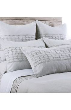 Pom+Pom+at+Home+'Layla'+Linen+Duvet+Cover+available+at+#Nordstrom