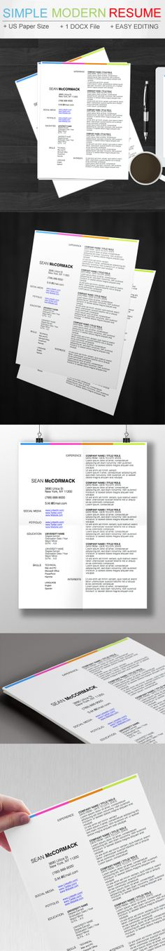 3 STYLISH RESUME TEMPLATES FOR MICROSOFT WORD FOR THE PRICE OF 1 - how to find resume templates on microsoft word