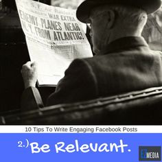10 Tips to Write Engaging Facebook Posts #2: Visit the link to see the full details. #socialmediamarketing #socialmediamanagement #business #startup #entrepreneur #TGIF