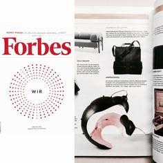 """""""Die Grazerin Katharina Purkarthofer steht für raffinierte Designkonzepte. Ihre außergewöhnlichen Taschen und Schuhe sind gerade bei anspruchsvollen Kennern beliebt."""" - Thank you, Forbes Magazine Austria!"""