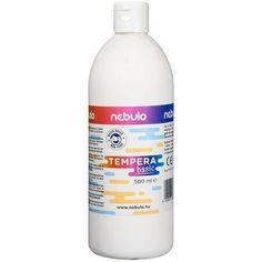 Akciós ! Ft Ár Nebuló tempera nagy kiszerelésben 500 ml - Fehér Ft Ár 690 Tempera, Cleaning Supplies, Vodka Bottle, Soap, Drinks, Drinking, Beverages, Cleaning Agent, Drink
