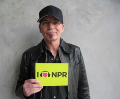 He may be a Bad Santa but Billy Bob Thornton is a great supporter - showing his love for NPR. (June 2012)
