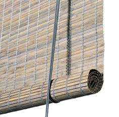 Rullegardiner Arkiv - Color & Co Grey Roller Blinds, Roller Shades, Balcony Blinds, Small Saw, Bathroom Blinds, Blinds Design, Bamboo Blinds, Bamboo Crafts, Grey Stain