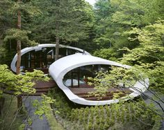 """Shell House"" by Kotaro Ide, Karuizawa, Japan"