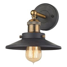 Elk Lighting 67180/1 - English Pub Sconce