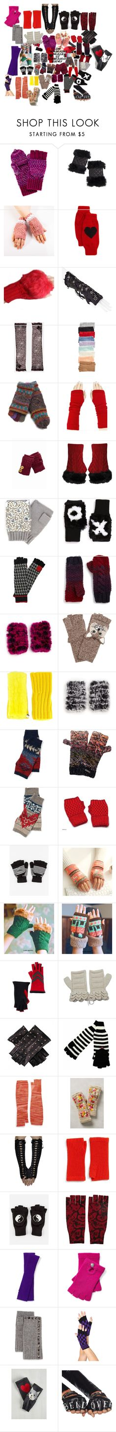 """""""THE WONDERFUL WORLD OF FINGERLESS GLOVES"""" by marius19143 ❤ liked on Polyvore featuring Mixit, Overland Sheepskin Co., Rosie Sugden, KD2024, ASOS, BCBGeneration, Lost Horizons, San Diego Hat Co., Jocelyn and Genie by Eugenia Kim"""