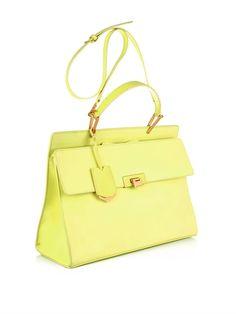 Balenciaga Le Dix Classic Cartable leather bag