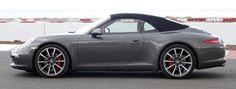 Porsche 911 (991) Convertible Agate Grey