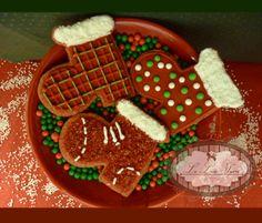 Bolachas personalizadas para o Natal! Por  Giselle Minella  NATAL BOTINHA PAPAI NOEL Sabores sugeridos: Baunilha, chocolate, ovomaltine, canela, nozes e morango.   Encomende pelo blog: www.lelieusucre.com.br