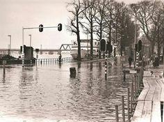 Deventer 1987 Overstoomde IJssel