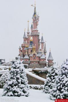 Disneyland zimą