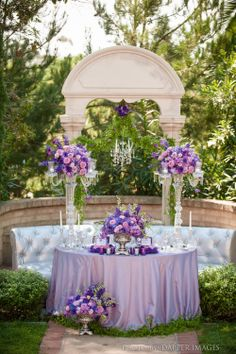 A sweetheart table is the main place at your wedding reception and it should excite and highlight your style and theme. Make an accent on your sweetheart table with a sequin tablecloth, lots of flowers and rhinestones. April Wedding, Wedding Pics, Wedding Flowers, Wedding Ideas, Wedding Stuff, Gypsy Wedding, Wedding Arches, Wedding Colours, Wedding Ceremony