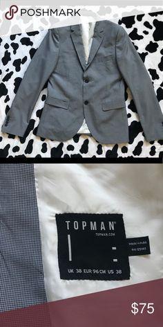Topman men's blazer Excellent used condition. US 38. Topman Suits & Blazers Sport Coats & Blazers