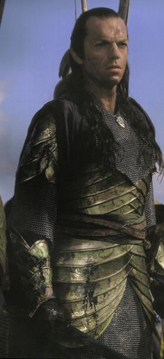Day 15--Favourite Armour: The Lindon Elves' armour from the prolouge.