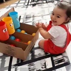 Toddler Learning Activities, Montessori Activities, Infant Activities, Kids Learning, Activities For Kids, Baby Sensory Play, Baby Play, Baby Toys, Baby Lernen