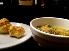 """Fall Chicken """"Noodle"""" Soup - I subbed Spaghetti Squash subbed for noodles.  It was good especially with all these colds going around!"""