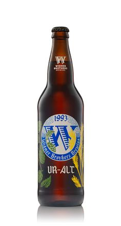 30 Beers for 30 Years - Doppelbock and Ur-Alt label on Packaging of the World - Creative Package Design Gallery
