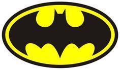 54 X Batman Bat Man Logo Edible Wafer/Fondant Paper Cup Cake Fairy Toppers