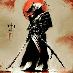 A samurai without a master. The ronin walk the earth in search but never to find.