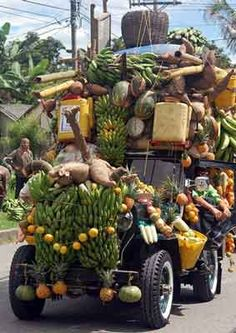 Overloaded cars, trucks, motorcycles or anything else in Thailand. http://www.islandinfokohsamui.com/
