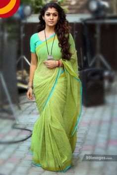 One among the few known for beauty in saree, is Nayanthara in Saree. Here are a few mind-blowing pictures of Nayanthara in saree that you can try too. Blouse Back Neck Designs, Saree Blouse Designs, Indian Beauty Saree, Indian Sarees, Beautiful Saree, Beautiful Indian Actress, Saris, Indian Dresses, Indian Outfits