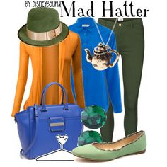 """""""Mad Hatter"""" by lalakay on Polyvore"""