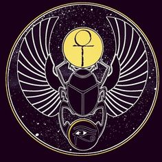 Principles of Kemet: Scarab Beetle, 3rd Eye Ankh and Ma'at ...