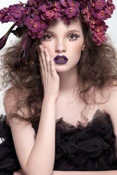 I like the flowers and the crazy hair. Photography: Aysha Remeithi Retouch: Olga Gogoleva Teen Model: Elena Sartison @ Fame Management Hair & Makeup: Golf Styling: Kate Lee