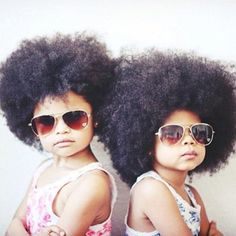Natural Hair Look Book -- adorable!