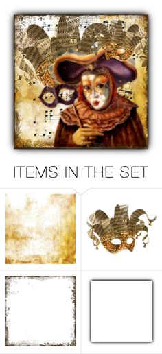 """MASQUERADE"" by crochetragrug ❤ liked on Polyvore featuring art"