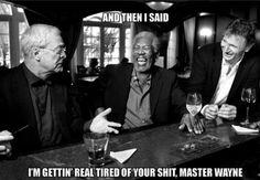 Alfred unwinding