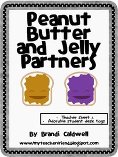 Peanut Butter and Jelly Partners freebie