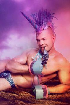 unicorn gay | Unicorn A Day: Unicorn Man