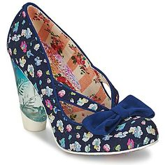 Zapatos de tacón Irregular Choice HELLO HA Marino 350x350